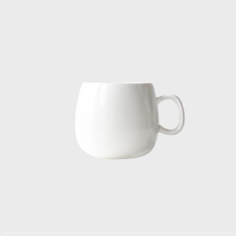 Vit kopp - anpassningsbar